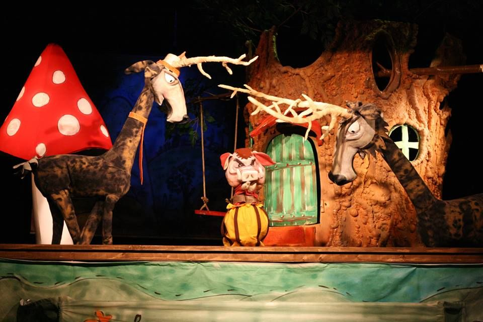 """Cipi și motanul Alfonso, eroii de pe scena Teatrului """"Puck"""" în acest weekend"""