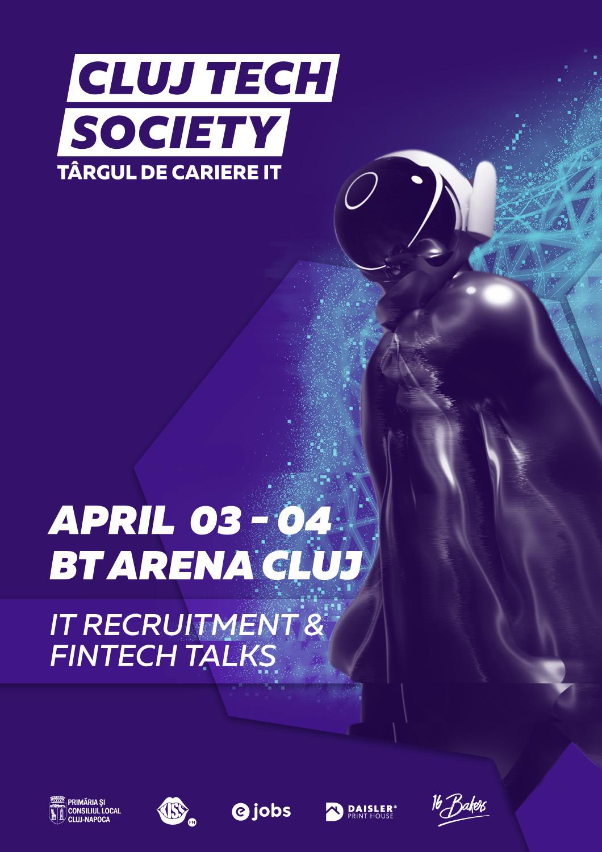 Evenimentul Cluj Tech Society – FinTech Talks, reprogramat în toamnă