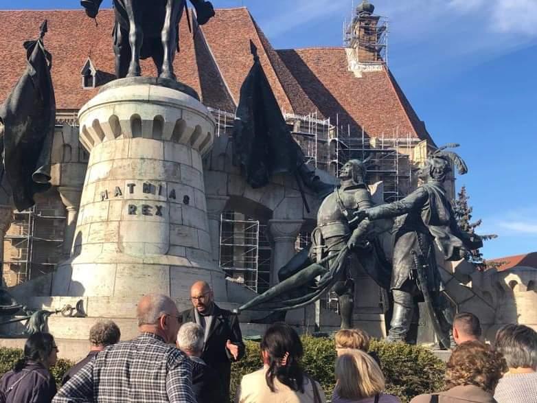 Tururi ghidate gratuite în centrul istoric al Clujului