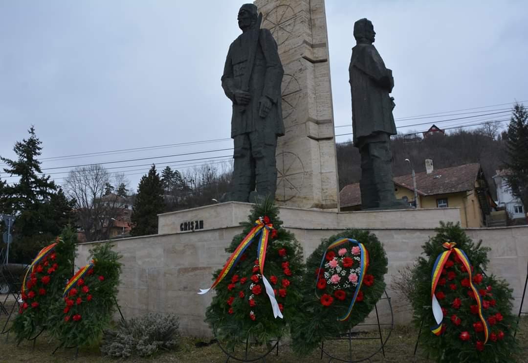 Martirii Horea, Cloșca și Crișan, comemorați astăzi de Consiliul Județean Cluj