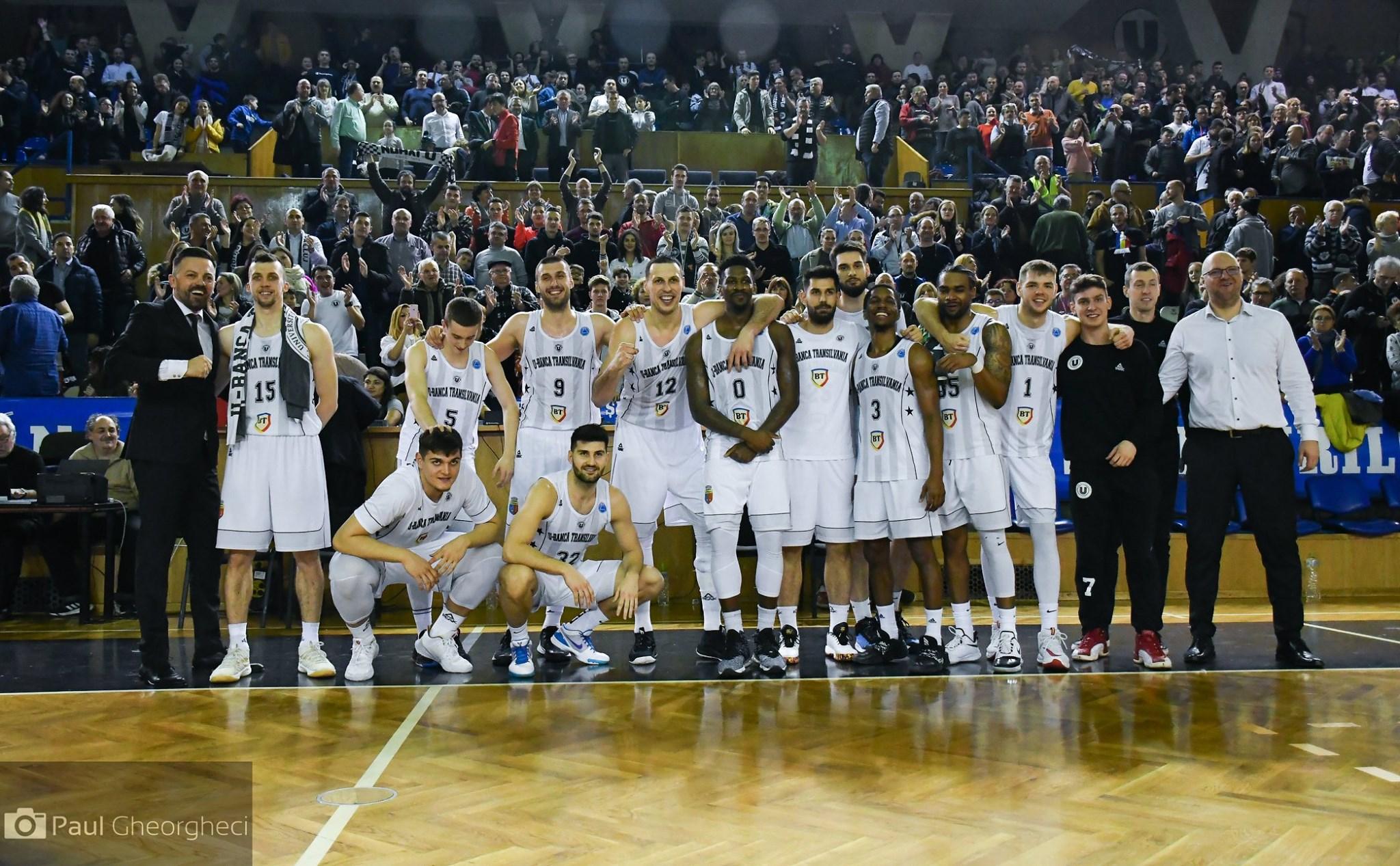 """Cu galeria în spate, U-Banca Transilvania s-a calificat în  sferturile FIBA Europe Cup, după o victorie clară cu Ironi Ness Ziona: 82-71! Atmosferă de vis în """"Horia Demian"""""""