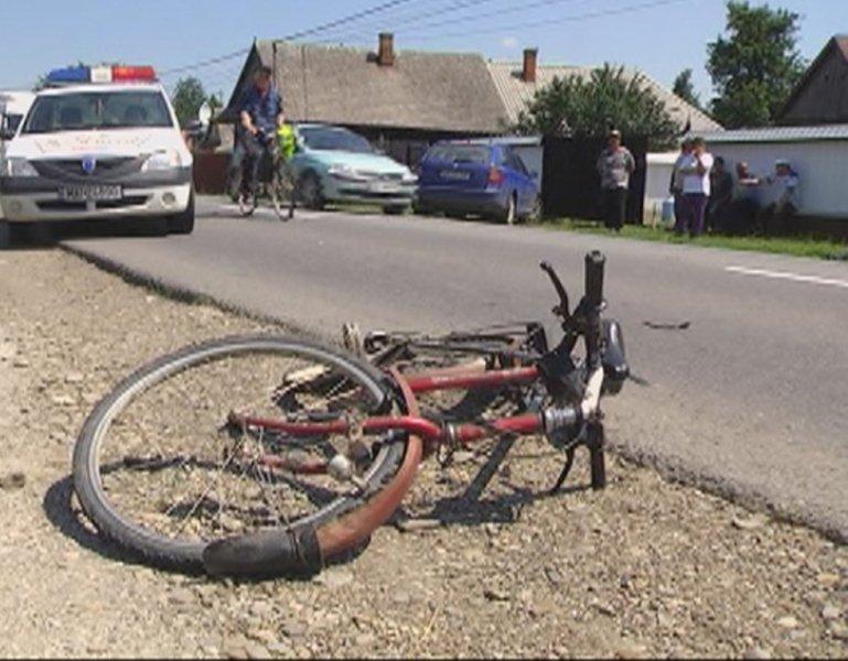Un șofer a omorât un biciclist în Cătina și a fugit de la locul accidentului. A fost prins de polițiști a doua zi