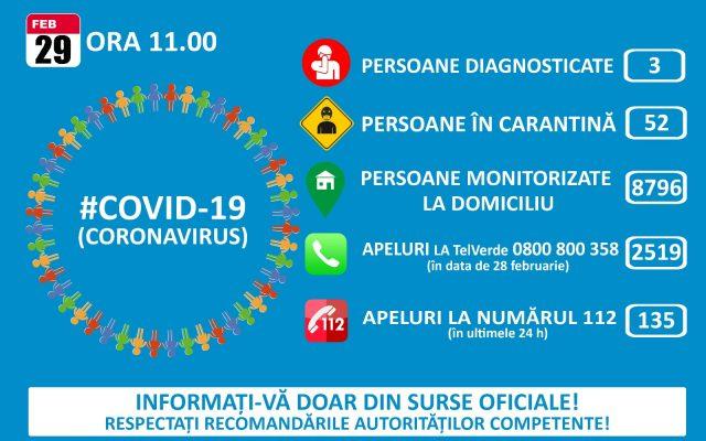 DSP Cluj: Pacientul din Maramureș, internat la Boli Infecțioase Cluj cu coronavirus, nu are febră și nici evoluție negativă