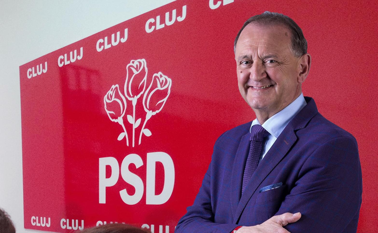 Traseistul politic Cristian Matei, fost membru PSD, va candida pentru un nou mandat la Primăria Turda din partea PNL