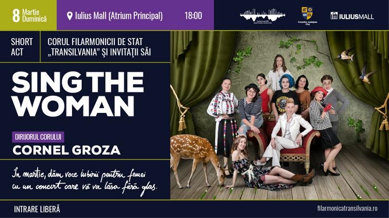 """Concert special de 8 Martie oferit de Filarmonica de Stat """"Transilvania"""", la Iulius Mall Cluj (P)"""