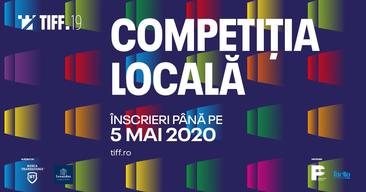 Încep înscrierile pentru Competiția Locală TIFF 2020, dedicată exclusiv clujenilor