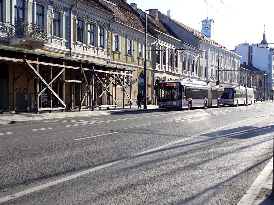 Transportul public nu se suspendă la Cluj-Napoca din cauza coronavirusului