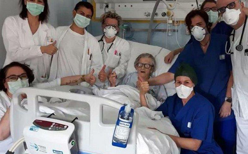 Miracol în Italia. O bunică de 95 de ani s-a vindecat coronavirus