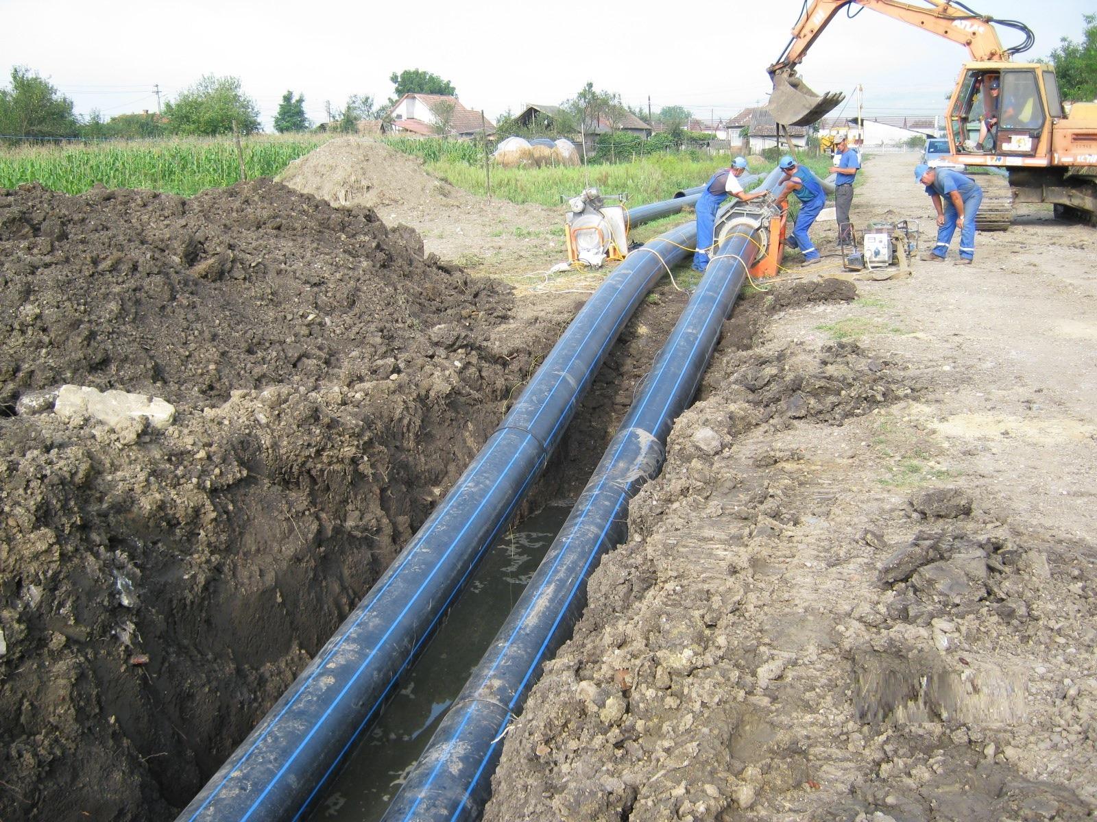 Au început lucrările de alimentare cu apă și canalizare comunele Bobâlna și Recea Cristur