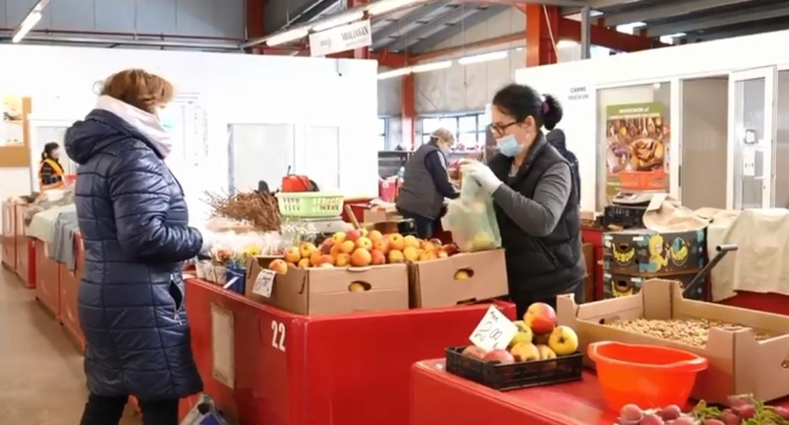 Măsuri preventive în piețele clujene și spațiile destinate relației cu publicul ale Primăriei Cluj-Napoca
