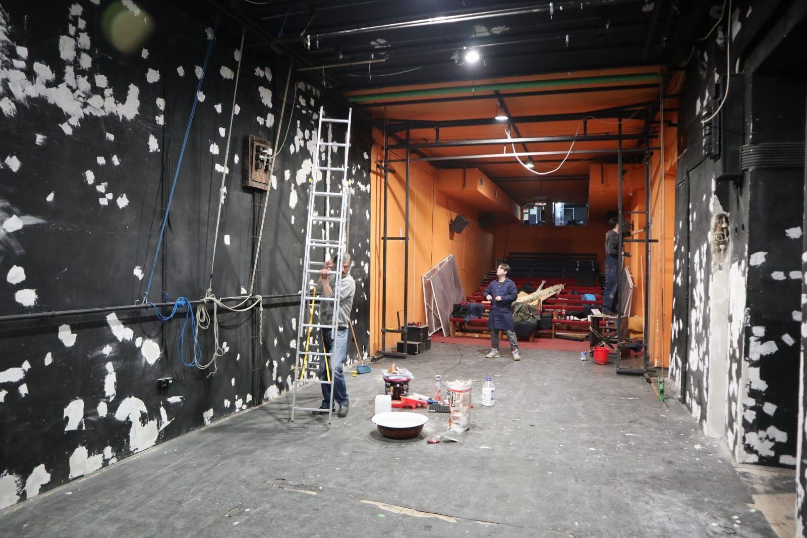 """Sala de spectacole a Teatrului de Păpuși """"Puck""""  se renovează"""