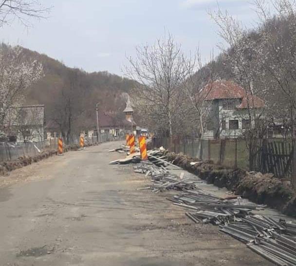 Lucrările de modernizare pe Drumul Apusenilor au început