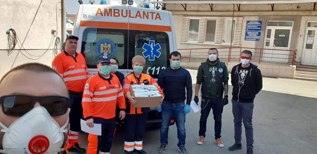 Beard Brothers, Vă ajutăm din Cluj și CERT Transilvania au donat împreună peste 180.000 de echipamente de strictă necesitate în județul Cluj