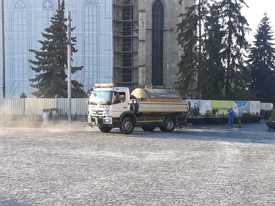 Străzile care vor fi curățate în acest weekend la Cluj-Napoca