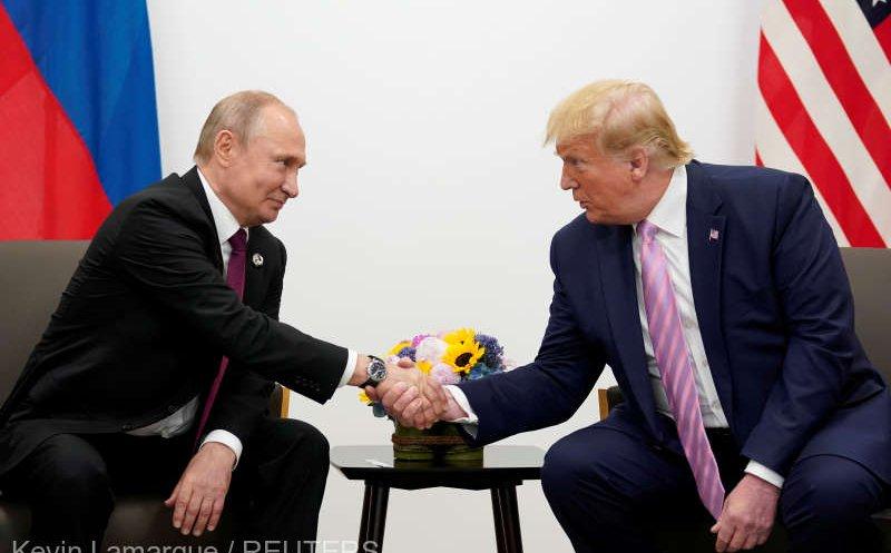 Declarație comună de cooperare publicată sâmbătă între Trump și Putin