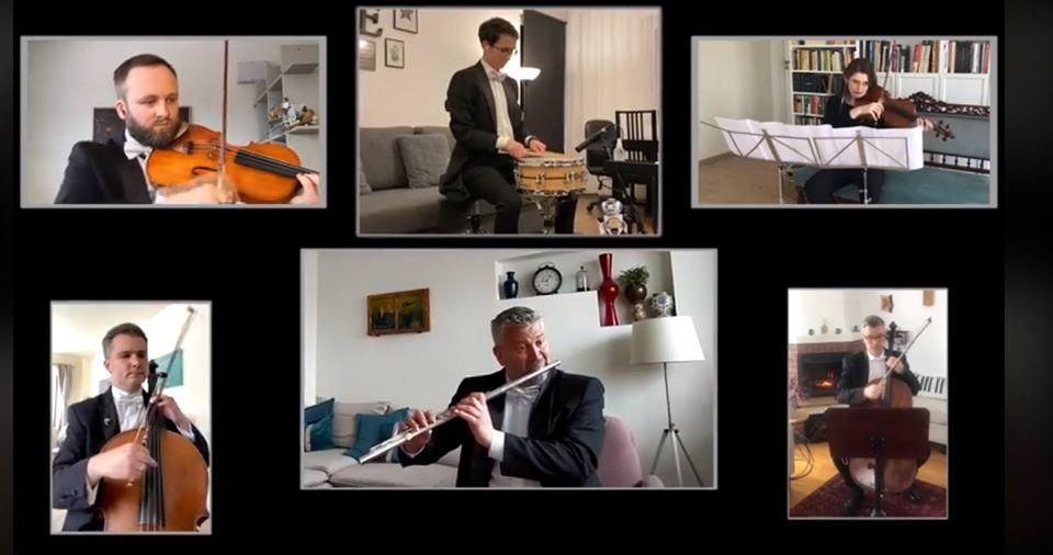 """Filarmonicii de Stat Transilvania a transmis online spectacolul """"Bolero"""" – VIDEO"""