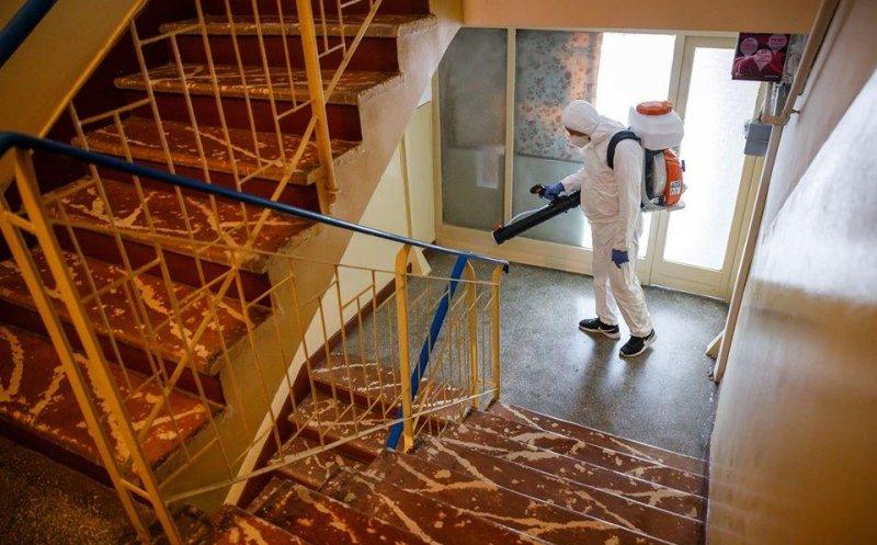 Ce blocuri vor intra în procesul de dezinfectare miercuri, 22 aprilie? VEZI LISTA