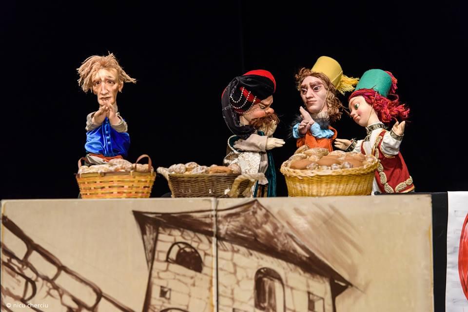 """Încă două spectacole oferite gratuit pe Facebook de Teatrul de Păpuși """"Puck"""""""