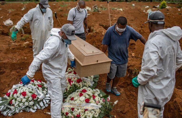 Brazilia a devansat Spania la numărul de decese COVID-19. La îmbolnăviri este pe locul doi în lume