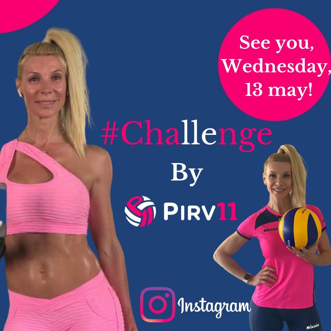 Fosta voleibalistă Cristina Pîrv le pregătește fanilor două surprize: un dialog inedit mamă-fiică și un #Challenge de 7 zile. Ambele vor fi transmise LIVE, pe Instagram