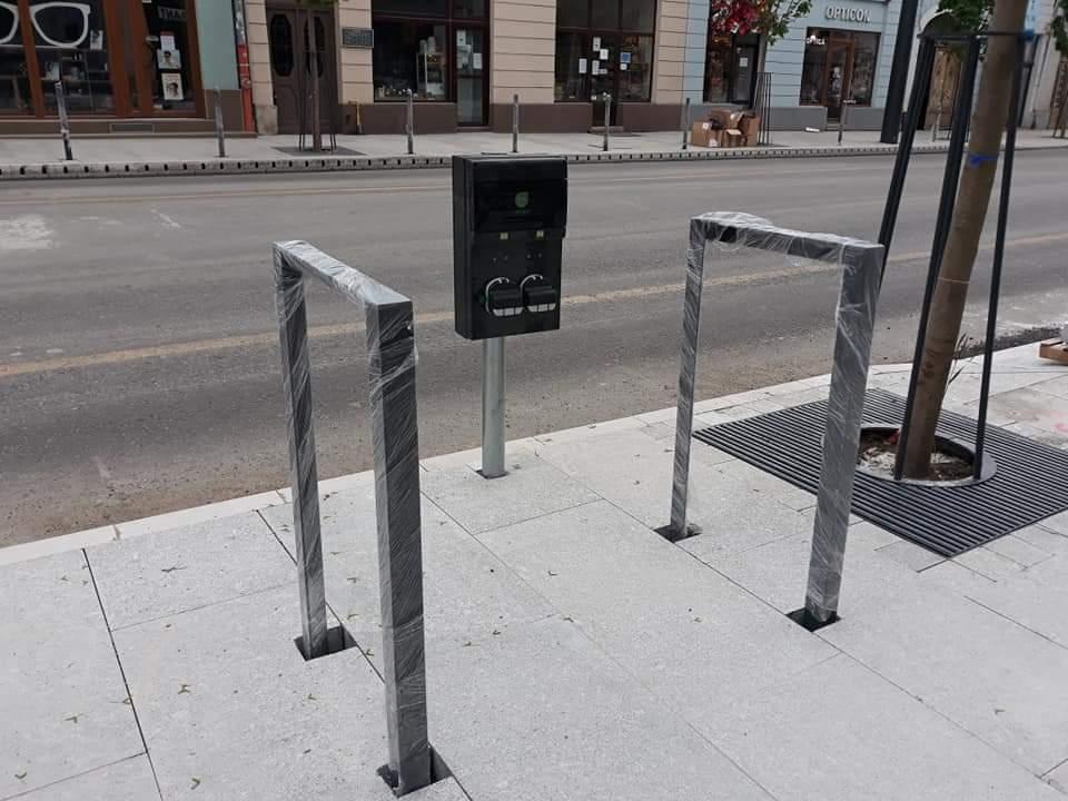 Strada Regele Ferdinand va avea și stații de încărcare pentru biciclete electrice – FOTO