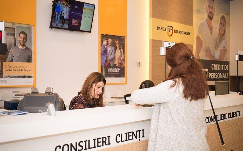 Clienții BT care au card de credit vor fi scutiți de plata sumei minime