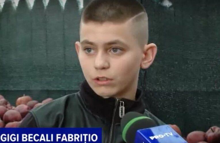 Un clujean i-a pus numele copilului său Gigi Becali Fabrițio