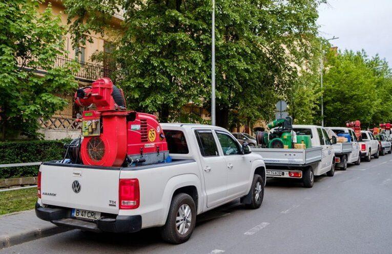 O nouă acțiune de dezinsecție pe domeniul public și privat începe joi la Cluj-Napoca