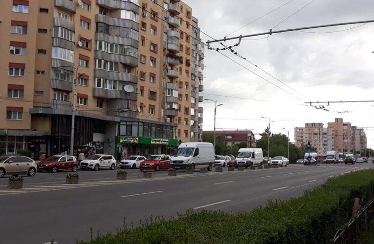 A revenit și aglomerația din trafic la Cluj odată cu relaxarea măsurilor – FOTO