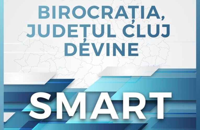 STOP birocrației. Consiliul Județean Cluj pregătește un amplu proiect de digitalizare a instituției