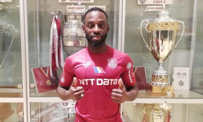 CFR Cluj l-a transferat definitiv pe Kevin Boli pentru 300.000 euro