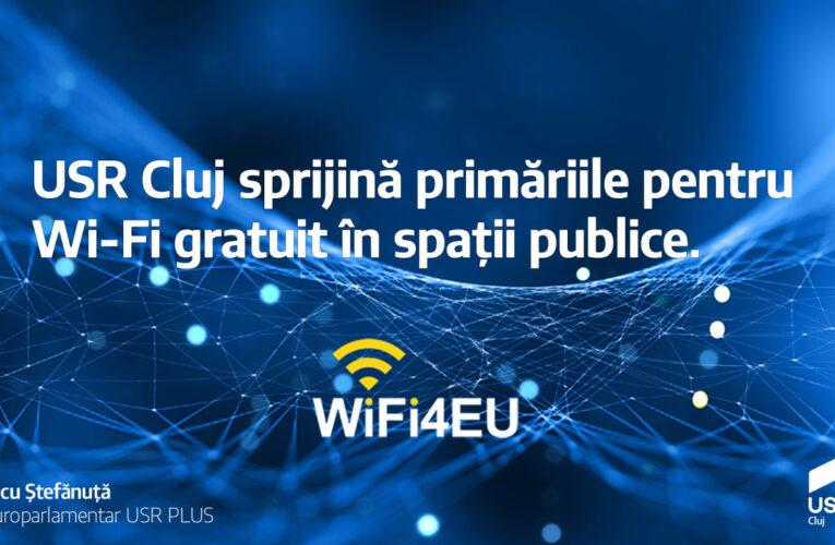 USR Cluj sprijină primăriile pentru WI-FI gratuit in spații publice