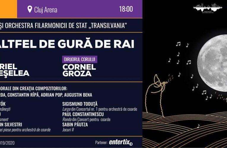 """Filarmonica de stat """"Transilvania"""" pune în scenă un spectacol pe Cluj Arena"""