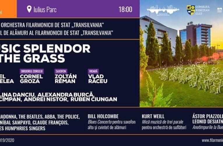 """Filarmonica de Stat """"Transilvania"""" aduce vineri spectacolul """"Music Splendor in the Grass"""", în Iulius Parc"""