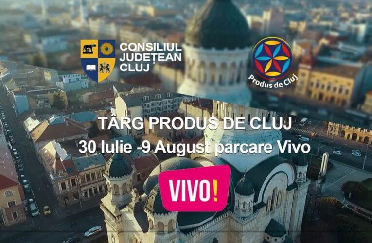 Târg Produs de Cluj ajunge în parcarea VIVO! Cluj-Napoca