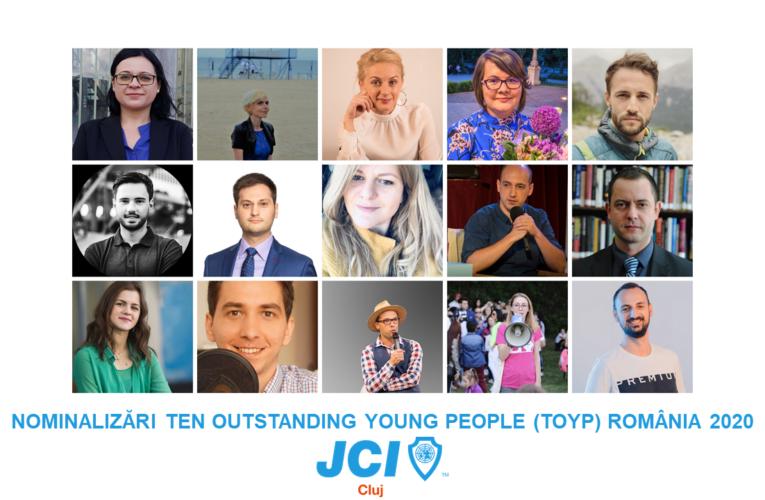 Tinerii cu rezultate remarcabile, promovați și susținuți de JCI Cluj