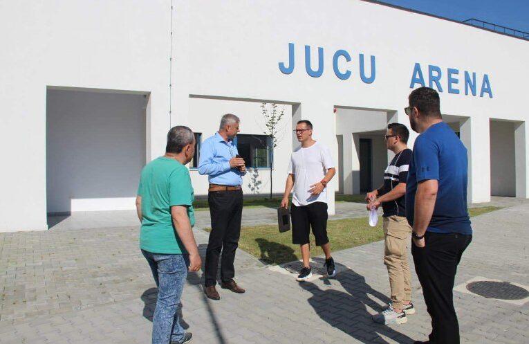Jucu Arena ar putea deveni stadion de cantonament și pregătire pentru Campionatul European de Fotbal U21 din 2023