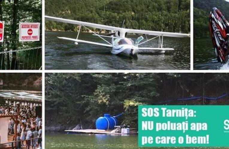 """Interzicerea ambarcațiunilor cu motor pe lacurile Tarnița și Beliș, AMÂNATĂ din nou din cauza intereselor. Mihai Goțiu, senator USR Cluj: """"Domnule Bode, vă ține să beți un pahar de apă direct din Tarnița?"""""""