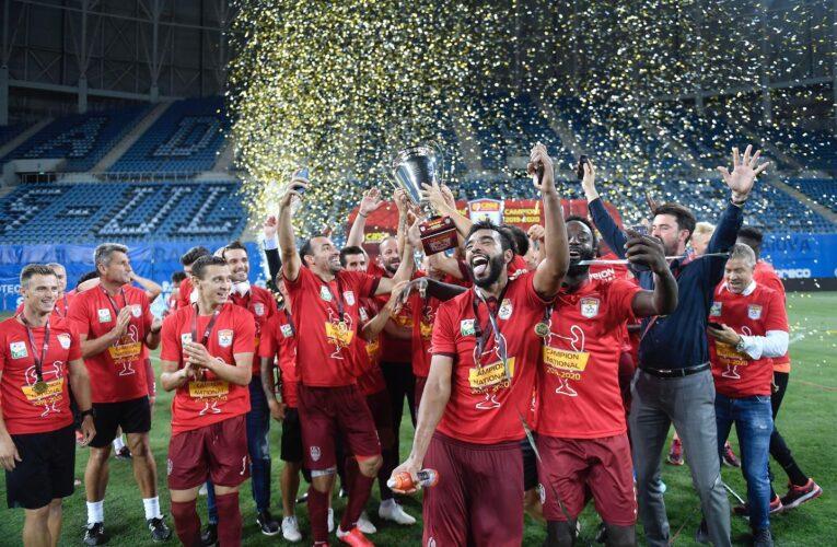 CFR Cluj domină echipa ideală a sezonului 2019-2020 în Liga 1