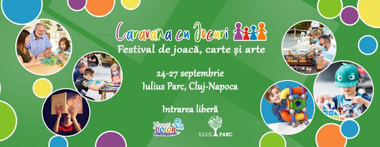 Festival cu jocuri, ateliere de creație și târg de carte, săptămâna aceasta, la Iulius Mall Cluj (P)