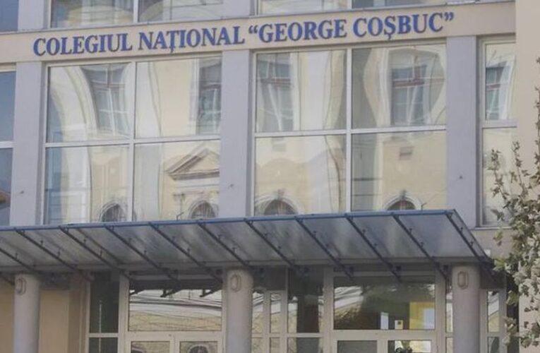 """CORONAVIRUS închide Colegiul Național """"George Coșbuc"""" din Cluj pentru două săptămâni"""