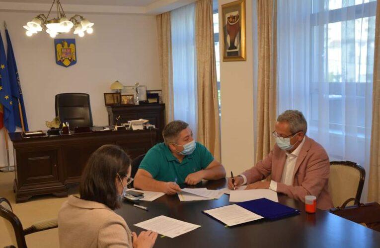 USAMV Cluj a predat oficial terenul Consiliului Județean Cluj pe care se va ridica viitorul Spital Pediatric Monobloc