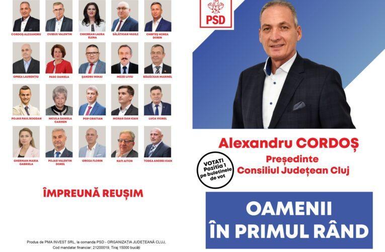 Degringolada și haosul continuă în PSD Cluj sub conducerea controversatului Alexandru Cordoș! Social-democrații clujeni nu sunt în stare să se organizeze singuri, dar vor să conducă un județ și un oraș!