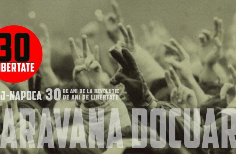 """Caravana Docuart aduce """"LIBERTATE30"""" se oprește în Cluj-Napoca, la Cinema Dacia"""