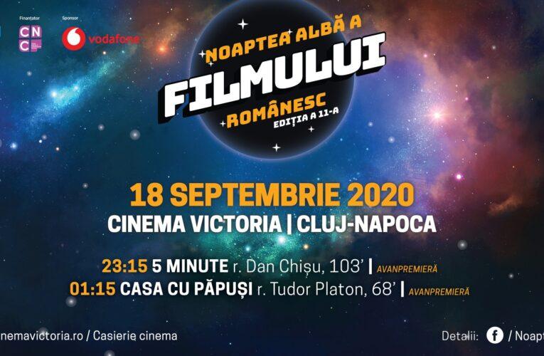 Noaptea Albă a Filmului Românesc, la Cinema Victoria din Cluj! Vezi programul