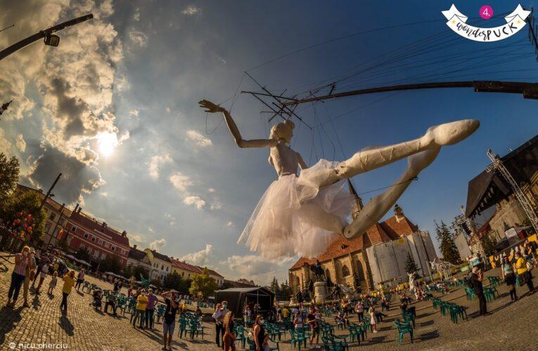 Festivalul stradal WonderPuck 2020 a reunit un public numeros atât la fața locului, dar, mai ales, în mediul online