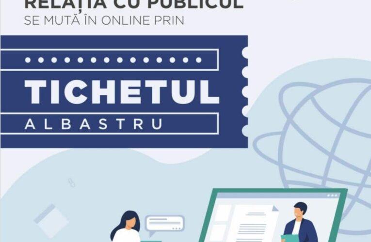 """""""Cluj smart city"""". În loc de audiențe directe, Primăria Cluj-Napoca a lansat Tichetul Albastru – un nou serviciu de comunicare online cu cetățeanul în 15 minute"""