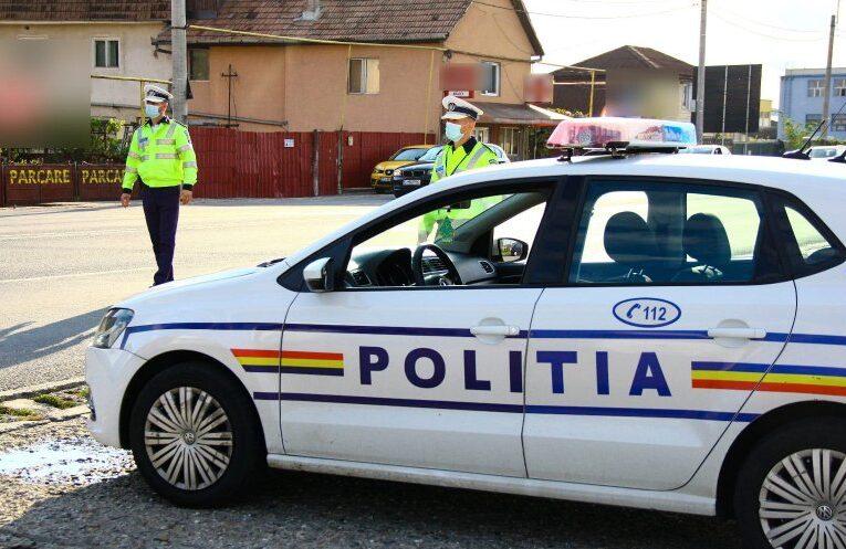 Zeci de sancțiuni și permise reținute de polițiști la Cluj! Au fost vizați și bicicliștii sau trotinetiștii