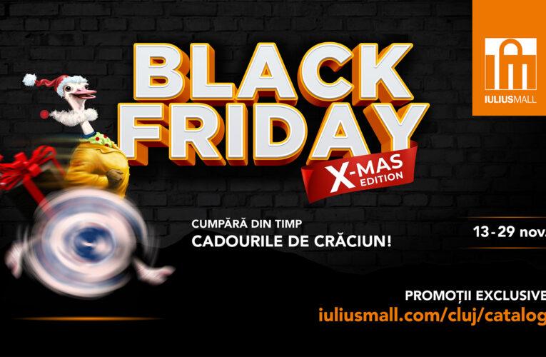 Moș Crăciun alege din timp darurile la Iulius Mall Cluj! Descoperă idei de cadouri și profită de ofertele Black Friday X-MAS Edition (P)