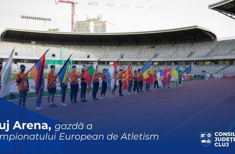 Clujul va fi în 2021 Capitala Europeană a Atletismului. Cluj Arena va găzdui, în premieră pentru România, Campionatul European pe echipe – Liga 1